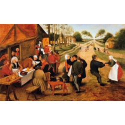 PUZZLE Kermesse de village Bruegel