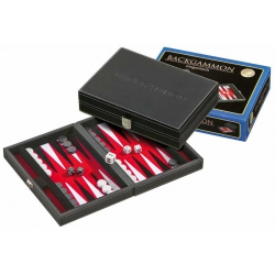 Backgammon petit magnetic gris