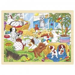 L' école des chiots, puzzle