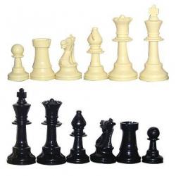Pièces d'échecs plastique