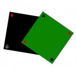 Tapis super glisse vert