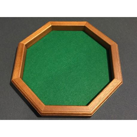 piste de d s octogonale au tapis vert. Black Bedroom Furniture Sets. Home Design Ideas