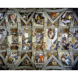 Puzzle Wentworth : Plafond de la Chapelle Sixtine (détail)