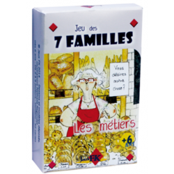 Jeu des 7 familles Les métiers