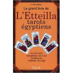 Le Grand livre de L'Etteilla tarot égyptiens