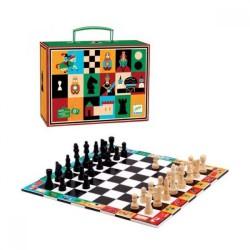 Valise échecs et dames