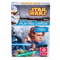 Jeu de 54 cartes Star Wars