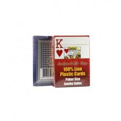 cartes poker 100% PVC