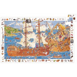 PUZZLE OBSERVATION - LES PIRATES