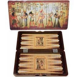 Backgammon Egyptien en coffret