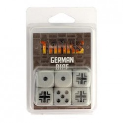 Tanks - Set de dés Allemands