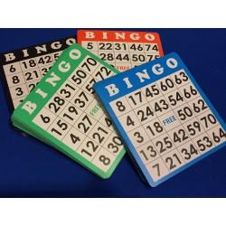 Tickets pour bingo par 100