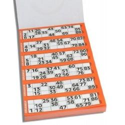 Tickets pour bingo par 600