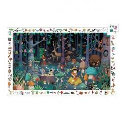 Puzzle d'observation- Forêt enchantée
