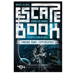Escape Book : Panique dans l'hyperspace
