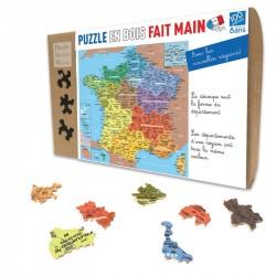 Carte de France : les Départements