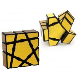 Floppy Ghost Cube Golden