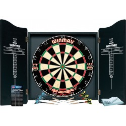 Ensemble cible + armoire Winmau-pro traditionnelle
