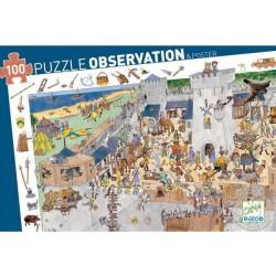 Puzzle observation: Le château fort