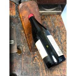 porte-bouteille en bois ciré