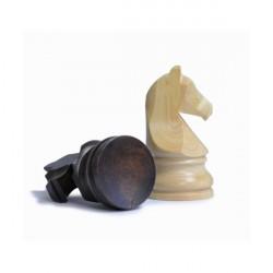 Pièces d'échecs en buis T5
