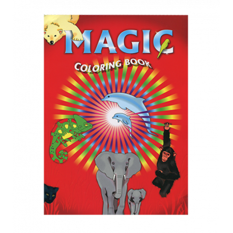 Magic Coloring Book Le Livre De Coloriage Magique Format A4 Au Tapis Vert