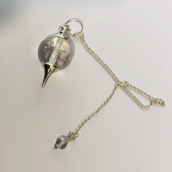 Pendule Sphère en cristal de roche