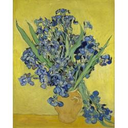Vincent Van Gogh - bouquet d'iris