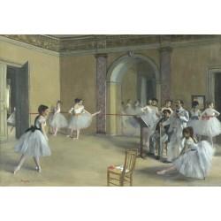 Edgar Degas - Le foyer de la danse à l'opéra