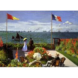 Claude Monet - Terrasse à Sainte Adresse