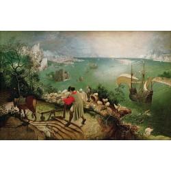 Pieter Breughel l'Ancien - La chute d'Icare