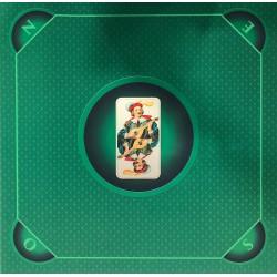 Tapis de Tarot  - Cœur de Pique Excuse vert