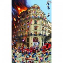 Puzzle humoristique - Ruyer : les Pompiers