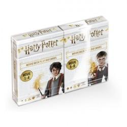 Coffret de 2 jeux de cartes sur les films Harry Potter