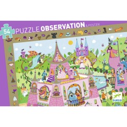 Puzzle d'observation - Princesses