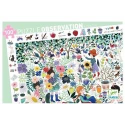 Puzzle d'Observation : Mille Fleurs