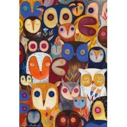 Andrea Kürti - Owls 1