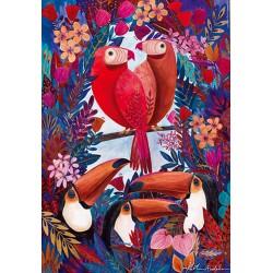 Andrea Kürti - Oiseaux tropicaux
