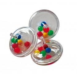 Toupie à boules en plastique
