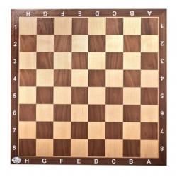 Plateau échecs lettré et chiffré