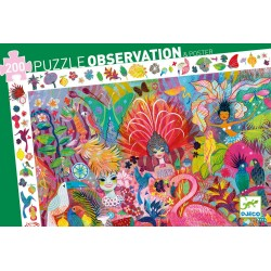 Puzzle d'Observation : Carnaval