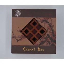 Boîte Secrète Carrée Mei