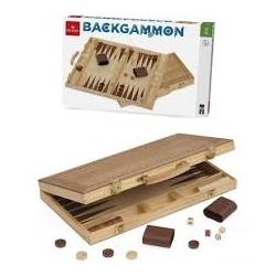 Backgammon valise en bois marqueté