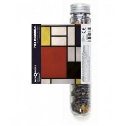 Micro Puzzle - Piet Mondrian Composition