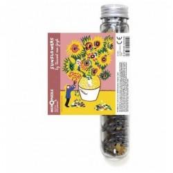 Micro Puzzle -Funflowers Van Gogh