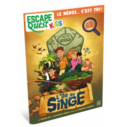 Escape quest Kids : l'Île au Singe