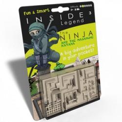 Inside Cube Legend vert : le Ninja et le Katana Masamune