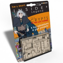 Inside Cube Legend orange : les Cryptes du Dernier Vampire