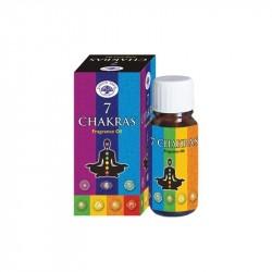 Huile de parfum 7 chakras