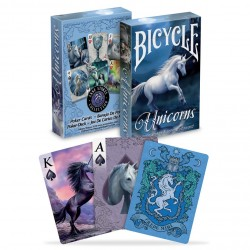 Bicycle Anne Stokes Unicorns